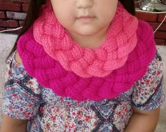 Double Braided Cowl Scarf