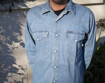 Vintage denim jeans C17 shirt