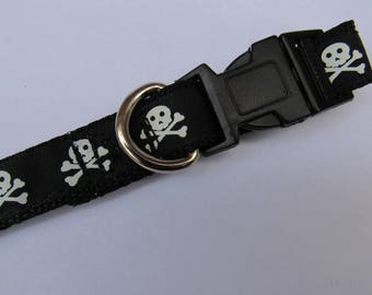 Skull and cross | Dog collar