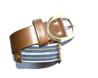 Ceinture Zoulay Marron