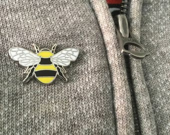 Manchester Bee Enamel Pin Badge