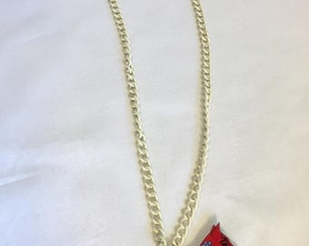 Modern, colorful Shepherd necklace