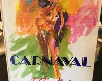 First Edition LeRoy Neiman CARNIVAL (Brazil) 1981