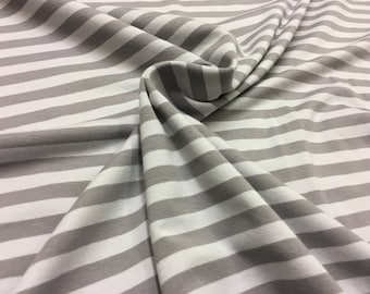 Grey on grey stripe - Jersey