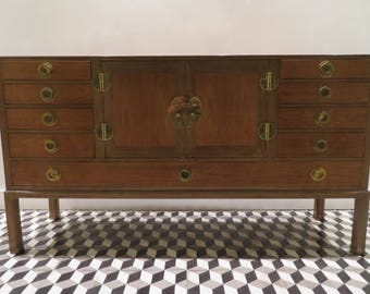 Dunbar Edward Wormley Walnut U0026 Mahogany Sideboard