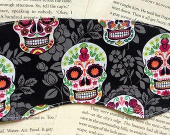 Rice Eye Mask- Sugar Skull Cotton Pattern