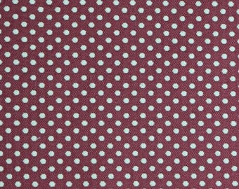 Polka dots Thévenon prince jacquard fabric