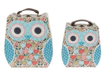 2 small owl, owl, 27 cm, CLARA OWL