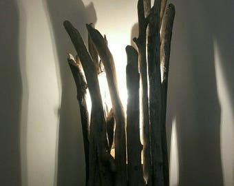 Lamp without shade Driftwood