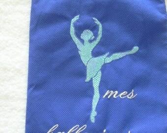bag for ballerinas, ballet dancer
