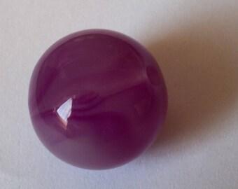 Purple round beads