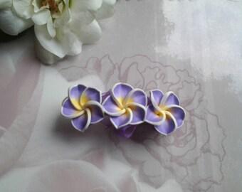 Tiare flower hair clip