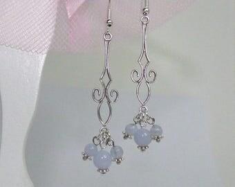 Charming earrings neoclassical inspired prints
