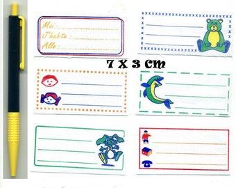 50 labels or sewing + pen indelebile kids special