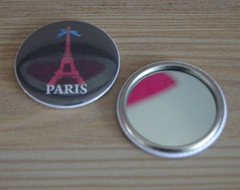 Mirror Vintage ideal for handbag 50 mm