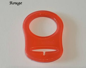 Red silicone ring