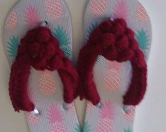 Summer Flip Flops Women's Beach Flip Flops Sandals Sizes 9-10