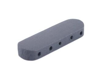 Wood interlayer medium grey bead