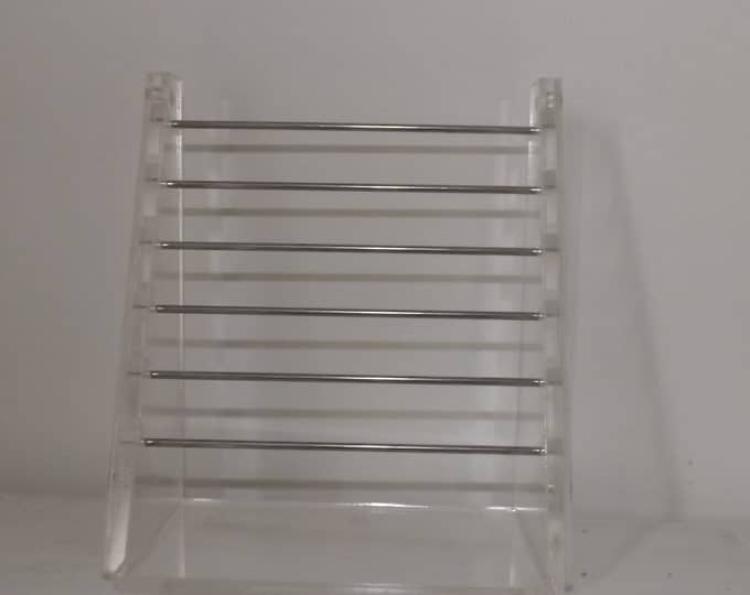 Transparent acrylic display stand for support pandora beads earrings