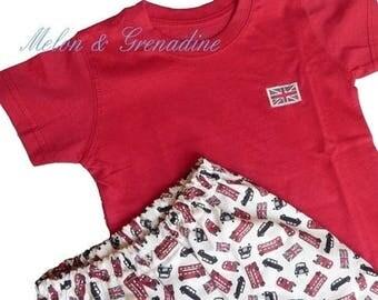 """""""Bus & Cab"""" fashion boy Pajamas series LONDON - 4t"""