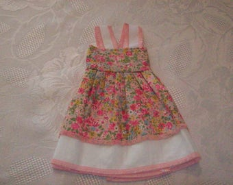 cherished dolls (printed with flowers) cotton dress