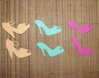 3 pairs of shoes for your scrapbooking creations, batch number to 23.