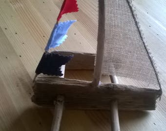 trimaran drift wood