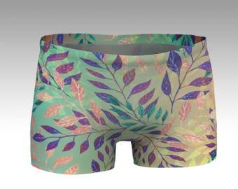 Atmospheric Leaf Arrangement  shorts