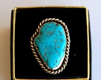 Sleeping Beauty Turquoise ring size 7 1/2