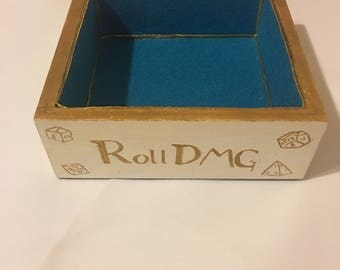 Personal size dice tray