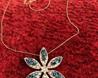 Swarovski Crystals Pedant Flower