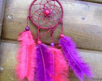Catch dreams pink and purple / Miniature / actual 20 cm
