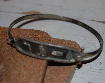Vintage Egyptian Themed Bracelet