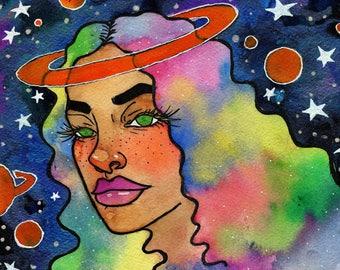 Galaxy Girl - Original