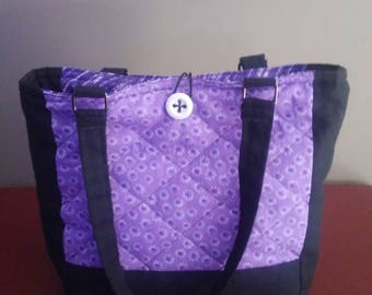 Quilted purse/tote, reversible