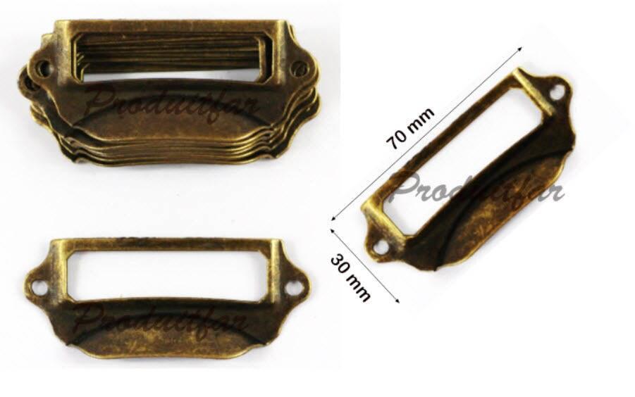 Meuble 70x30 Of Lot 10 Poign E Porte Etiquette Fer Pour Tiroir Meuble De