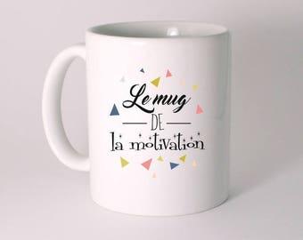 """CERAMIC MUG """"motivation mug"""""""