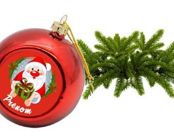 """Santa"" Christmas ball custom"