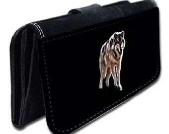 Wallet pattern Wolf