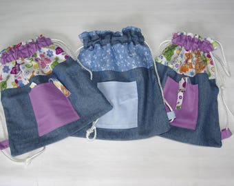 blanket and pacifier hanging bag
