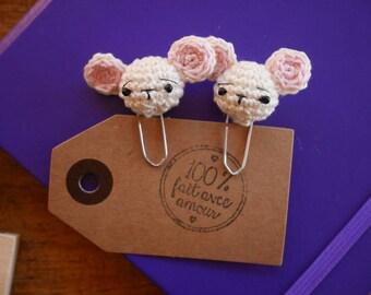Paper clip Amigurumi mouse
