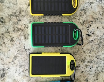 Solar Panel Phone Charger