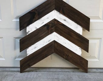Wooden Chevron arrow