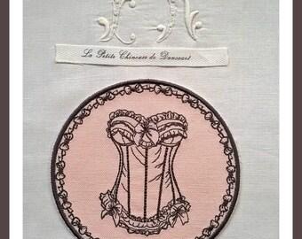 Embroidered Medallion lingerie