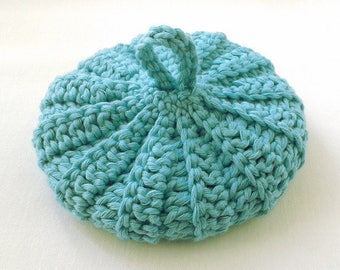 Cotton/lyocell 10.5 cm turquoise Tawashi