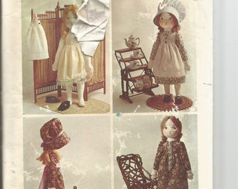 Vintage Holly Hobbie make your own stuffed doll