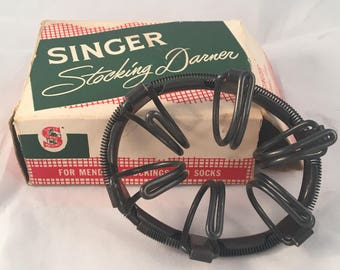 Vintage Singer Manufacturing Company Stocking Darner No. 35776 with Box