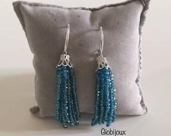 Crystal nappy earrings