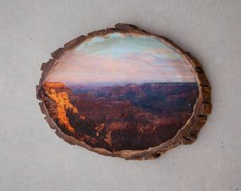 Grand Canyon Wood Photo Transfer
