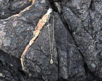 Genuine Dark Green SeaClay Necklace